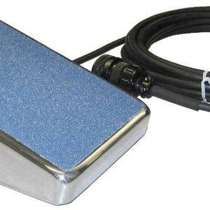 SSC Controls TIG Foot Control Pedal with Chrome Case
