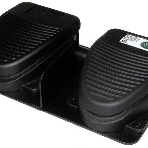 DF-Series Dual Pedal Foot Switch (front view)