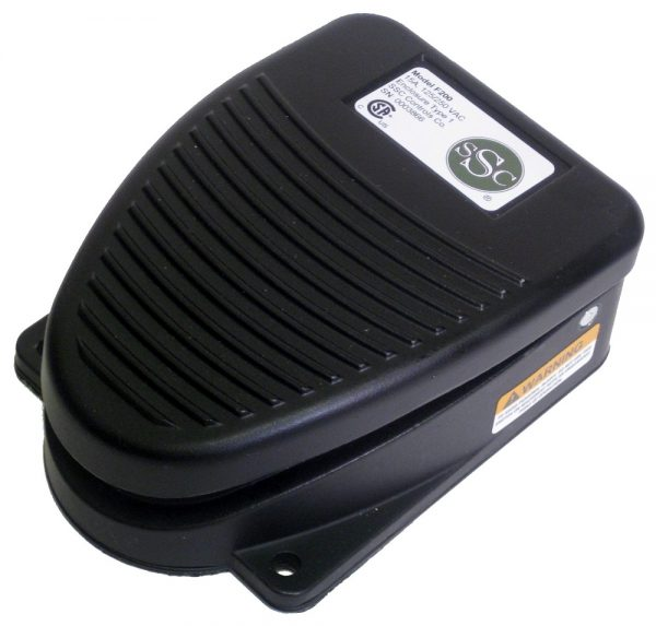 F-Series Foot Switch, Top View, Replaces Clipper 632-S