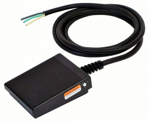 S100-Series Foot Switch and Cable with Leads