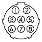 Thermal Arc 8-Pin (C850-0825)