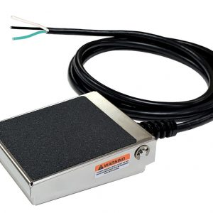 S300W-0502 Foot Switch, SSC Controls, Cable with Leads, Water-Tight, Dust-Tight, Corrosion Resistant
